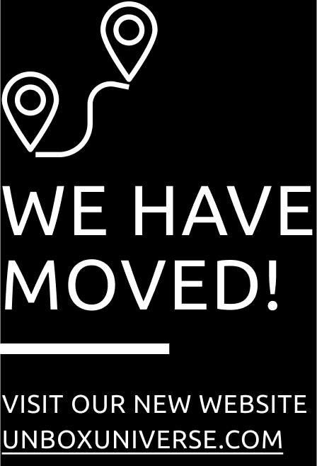 We have moved: Unbox the Universe